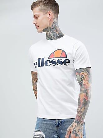 Ellesse Prado - Weißes T-Shirt mit großem Logo