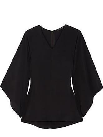 Etro Etro Woman Chiffon Peplum Top Black Size 38