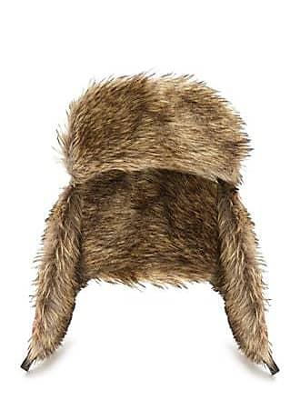f841b460c2b40 21 Men Faux Fur Plaid Trapper Hat at Forever 21 Red black