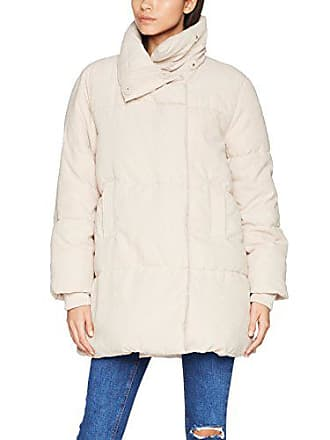 New Look Noir Blanket Puffer, Blouson Femme, Gris (Light Pink), 40 23d128e66dbf