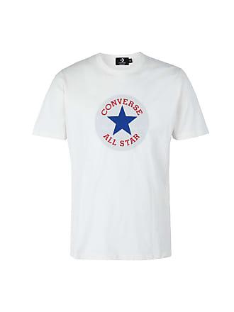 c9400782623355 Converse T-SHIRT SS CREW CHUCK PATCH - TOPS - T-shirts