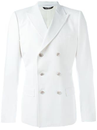9d7ceb2b4 Dolce   Gabbana Casaco com abotoamento duplo - Branco