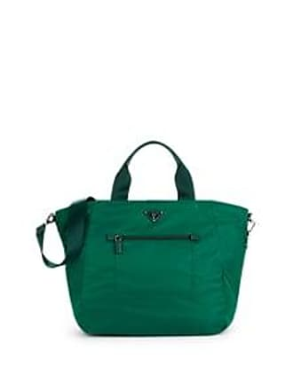 f149008f5d5c Prada Womens Leather-Trimmed Shopper Tote Bag-Oleandro