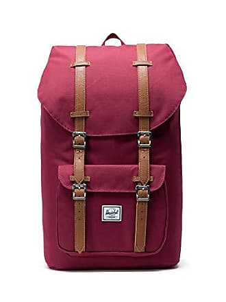 Herschel Little America Backpack-Windsor Wine/Tan