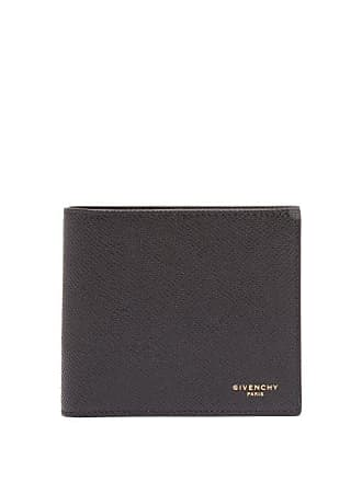 7167d67450 Givenchy Logo Grained Leather Billfold Wallet - Mens - Black