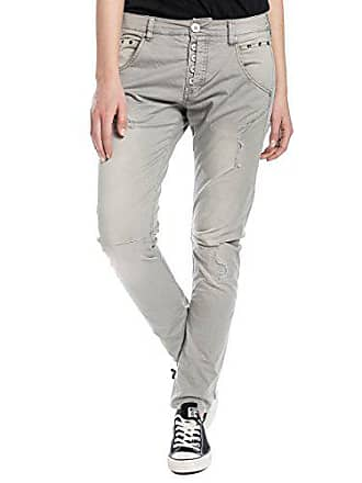 2957c0d29cb26 Timezone RivaTZ Fashion Pants Pantalon Femme, Gris (Chateau Grey 9099) W33
