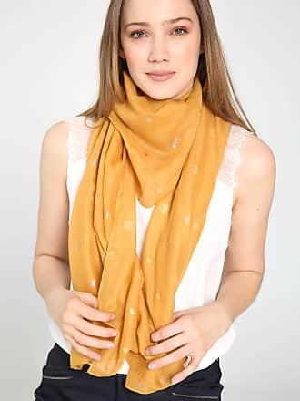 Paprika VANAF MAAT 42: Sjaal met goudkleurige stippen