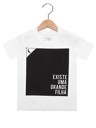 Reserva Mini Camiseta Reserva Mini Mini Uma Grande Filha Branca