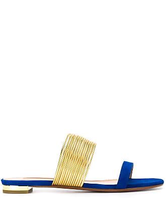 Aquazzura Sandália Rendez Vous - Azul