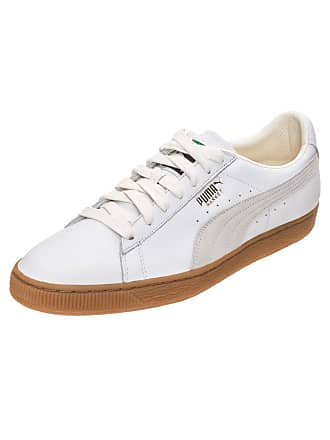 923ab1a95cf Puma Sneakers laag Basket Classic Gum Deluxe goud / wit