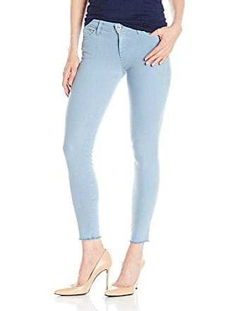 386ba465c48 Bigstar Womens Alex Mid Rise Skinny Ankle, Lake Blue, 24