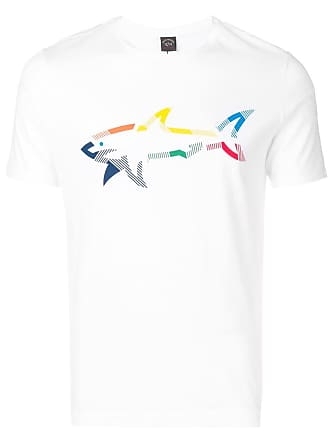 Paul & Shark Camiseta estampada - Branco