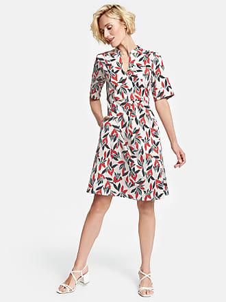 cc78d27009c89 Gerry Weber Kleid aus Stretchbaumwolle Ecru-Beige Damen
