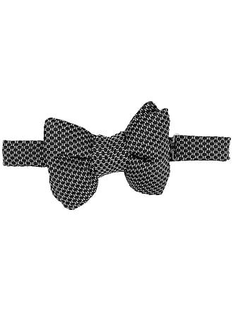 Tom Ford Gravata borboleta de seda - Preto