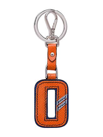 e311e2c626 Prada Portachiavi a forma di lettera - Di Colore Arancione