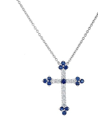 Fantasia White Gold Plated Celtic Cross Necklace