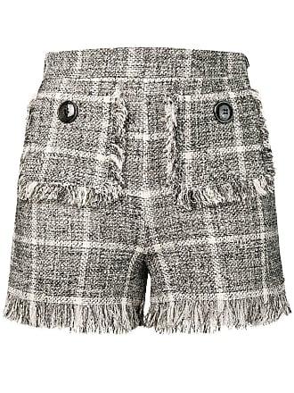 Elisabetta Franchi tweed shorts - Preto