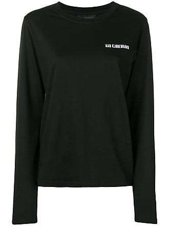 Han Kjobenhavn Camisa com logo - Preto