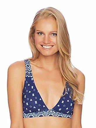 b6b1ed86bf74d Splendid Womens Over-The-Shoulder Halter Swimsuit Bikini Top