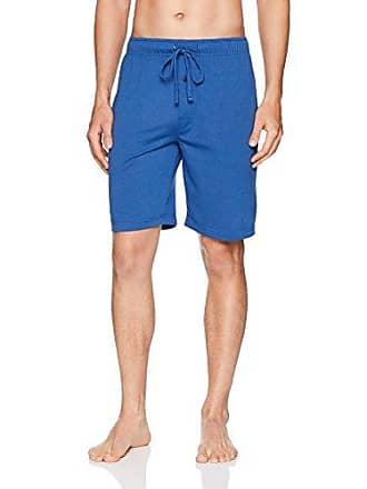 Fruit Of The Loom Mens Breathable Mesh Pajama Short, Royal, Medium