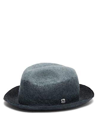 26f0d50f365c9 Filù Hats Malmo Wool Blend Felt Derby Hat - Womens - Blue