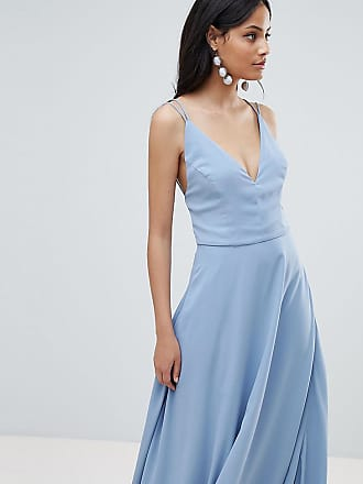 New Look Strappy Back Maxi Dress - Blue