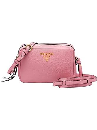 Prada Bolsa tiracolo de couro - Rosa