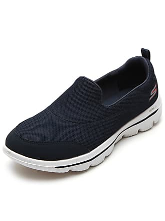 Skechers Tênis Skechers Casual Walk Evolution Ultra-Reach Azul-Marinho