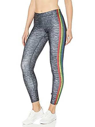 28dff7ddd5505 Terez Womens Printed Legging, rain Be Au Stripes, L
