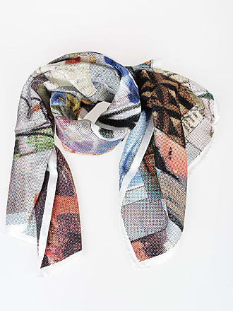 Golden Goose 137x137cm Silk Printed Foulard size Unica