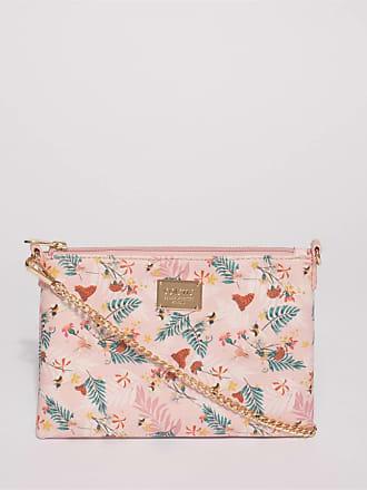 Colette by Colette Hayman Pink Floral Plain Peta Chain Crossbody Bag cf8111943d