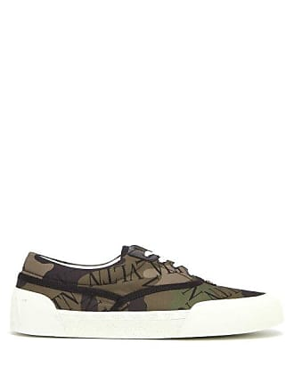d1c907fdc77 Valentino Vltn Camouflage Print Low Top Trainers - Mens - Green