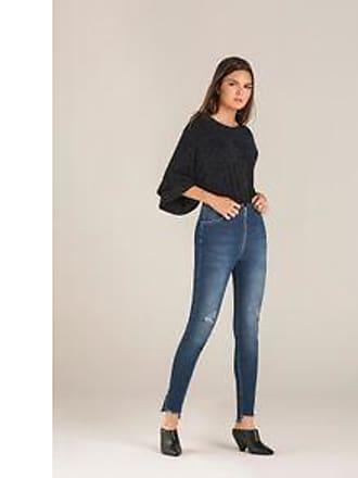 Lebôh Calça Jegging Cos Intermediario Bolso Reserva Jeans 34