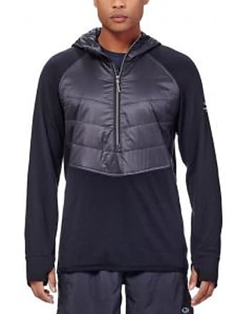 Icebreaker Mens Ellipse Half Zip Hood Pullover