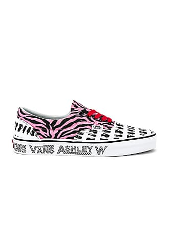 Vans x Ashley Williams Era Sneaker in Black & White