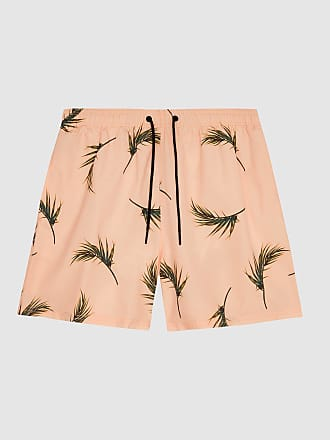 1cf58a307ea49 Reiss Palmer - Floral-printed Swim Shorts in Pink, Mens, Size XXL