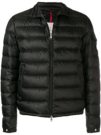 Moncler classic padded jacket - Black