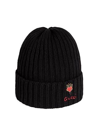 109d006c76c8 Gucci Bonnet en laine à motif coeur transpercé