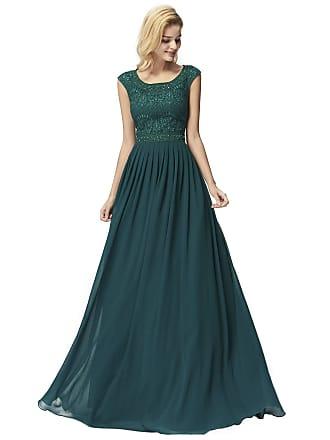 16582cce91 Ever Pretty Womens Sleeveless Floor Length A Line Chiffon Long Bridesmaid  Dresses Dark Green 10UK