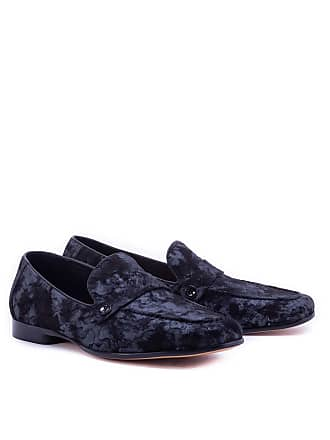 Robert Graham Mens Nile Loafer In Black Size: 10.5 by Robert Graham