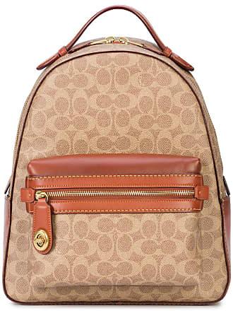 42817b9a1d46f Coach signature canvas Campus backpack - Brown