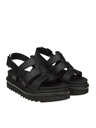 Dr. Martens Black Yelena sandals