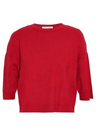 7c2c3372210b2d Valentino Valentino Woman Cropped Cashmere Sweater Red Size XL
