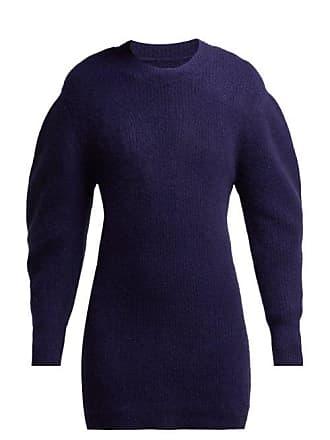 Isabel Marant Sigrid Cashmere Knit Dress - Womens - Navy