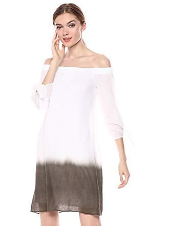 060330abb0ec Bailey 44 Womens Ground Cover Off The Shoulder Dress, White/Palm, Large