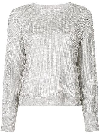 Rta Suéter de tricô - Prateado