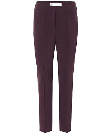 Victoria Beckham Wool-blend straight-leg pants