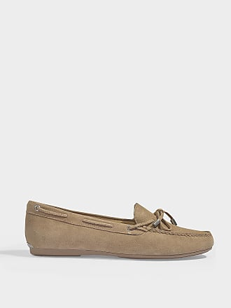 b8292a89e94 Michael Michael Kors Sutton Moc Loafers in Warm Taupe Sport Suede