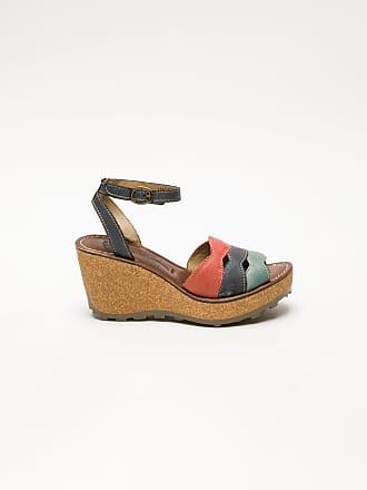 5d4cd59f4 FLY London Multicolor Wedge Sandals - Overcube