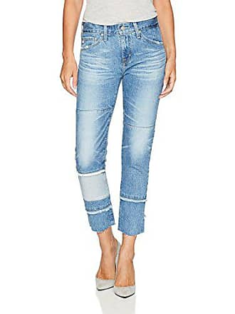 AG - Adriano Goldschmied Womens The Ex-Boyfriend Slim-repurposed Jean, 18 Years-Blue Mosque, 28